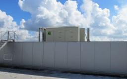 Laveur d'air industriel pour usine de croquettes (Anvers)