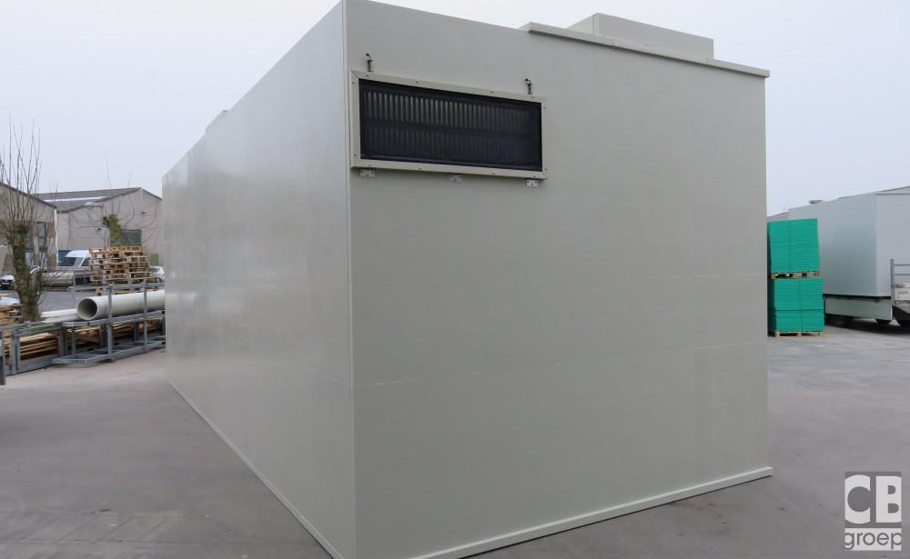 warmtewisselaar bij luchtwasser varkens CBgroep 010