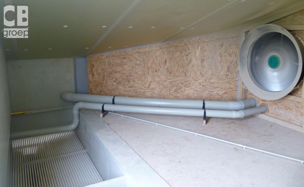 warmtewisselaar bij luchtwasser varkens CBgroep 011
