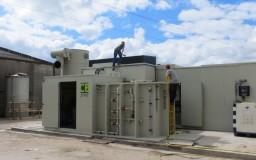 Laveur d'air pour compostage (Flandre Occidentale)